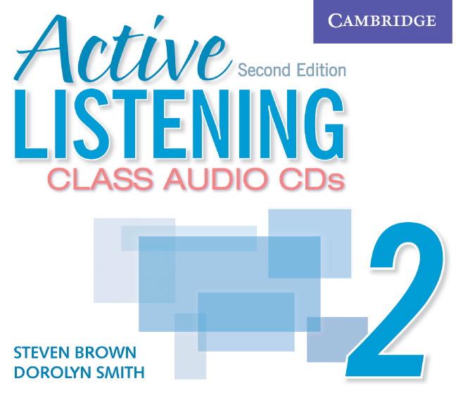 Active Listening 2 Class Audio CDs