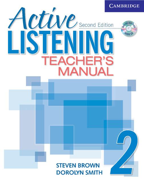 Active Listening 2 Teachers Manual with Audio CD