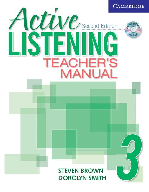 Active Listening 3 Teachers Manual with Audio CD
