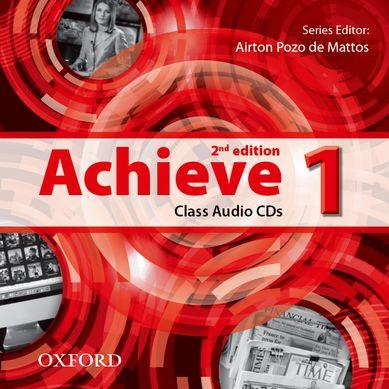 Achieve 2nd Edition 1 Class Audio CDs /2/