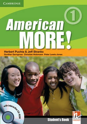 American More! Level 1 Students Book with CD-ROM