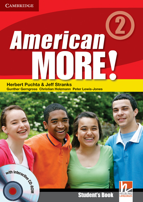 American More! Level 2 Students Book with CD-ROM