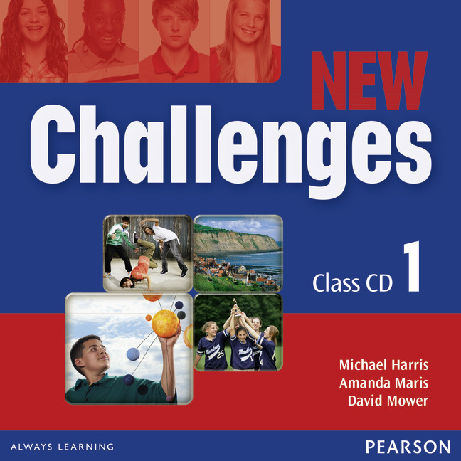 Pro 2. stupeň ZŠ : New Challenges 1 Class CDs | shop
