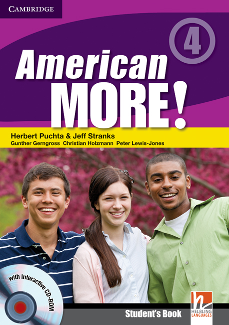 American More! Level 4 Students Book with CD-ROM
