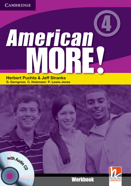 American More! Level 4 Workbook with Audio CD