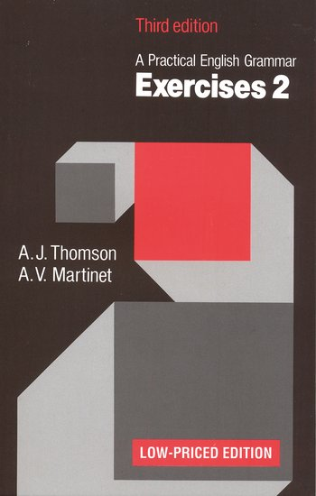 A Practical English Grammar: Exercises 2 Third Low-priced Edition