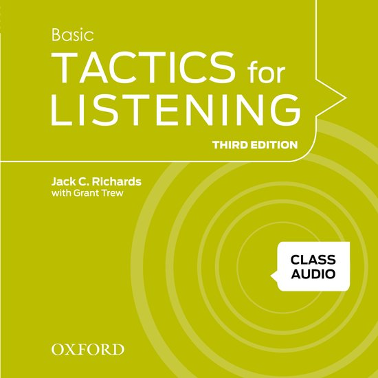 Basic Tactics for Listening Third Edition Class Audio CDs /4/