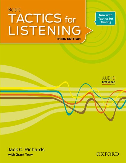 Basic Tactics for Listening Third Edition Student´s Book