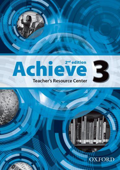 Achieve 2nd Edition 3 Teacher´s Resource Center CD-rom