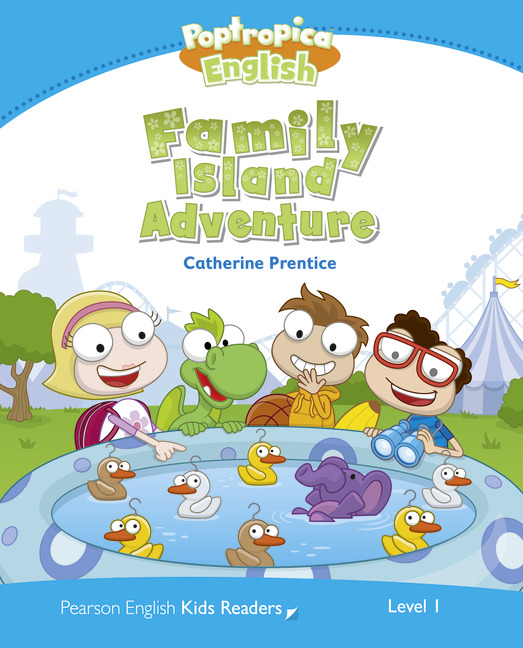 Pearson English Kids Readers: Poptropica English Family Island Adventure