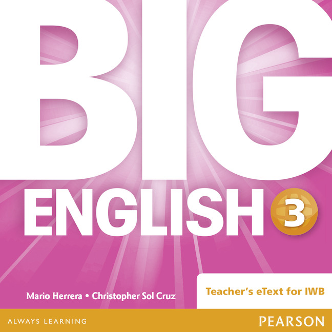 Big English 3 Teacher's eText CD-Rom