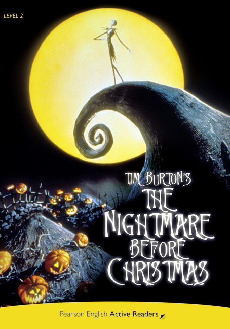 Pearson English Active Readers: Nightmare before Christmas + Audio CD