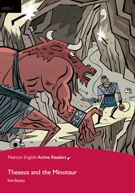 Pearson English Active Readers: Theseus and the Minotaur + Audio CD
