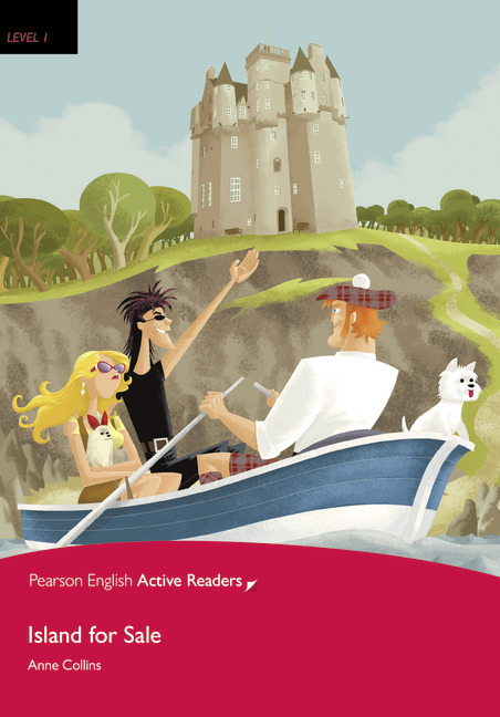 Pearson English Active Readers: Island for Sale + Audio CD