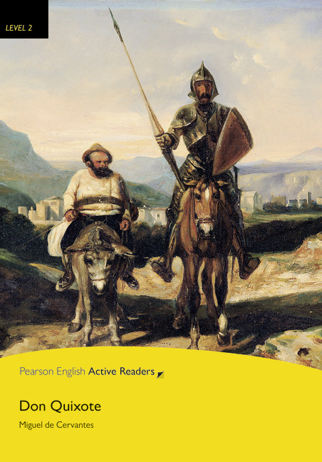 Pearson English Active Readers: Don Quixote + Audio CD