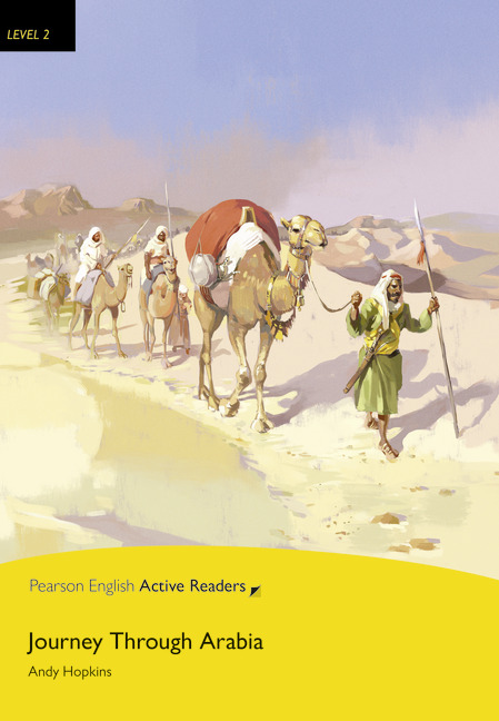 Pearson English Active Readers: Journey Through Arabia + Audio CD