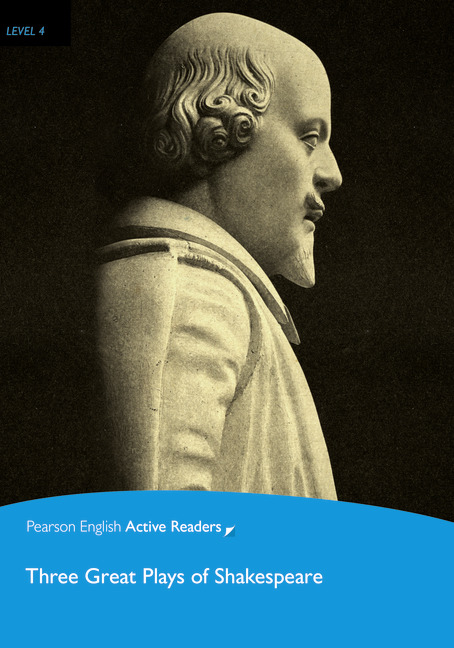 Pearson English Active Readers: Three Great Plays of Shakespeare + Audio CD
