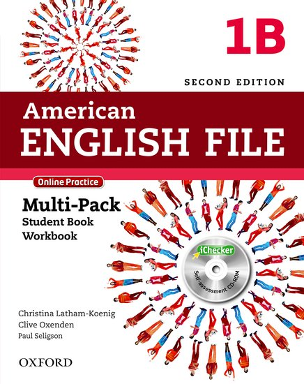 American English File Second Edition Level 1: Multipack B with Online Practice and iChecker