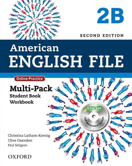 American English File Second Edition Level 2: Multipack B with Online Practice and iChecker