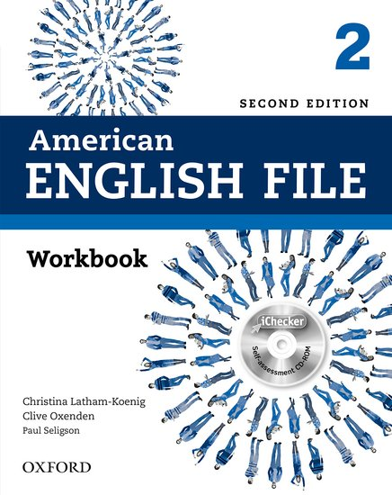 American English File Second Edition Level 2: Workbook with iChecker