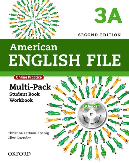 American English File Second Edition Level 3: Multipack A with Online Practice and iChecker