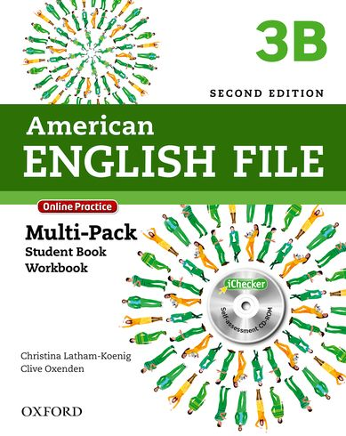American English File Second Edition Level 3: Multipack B with Online Practice and iChecker