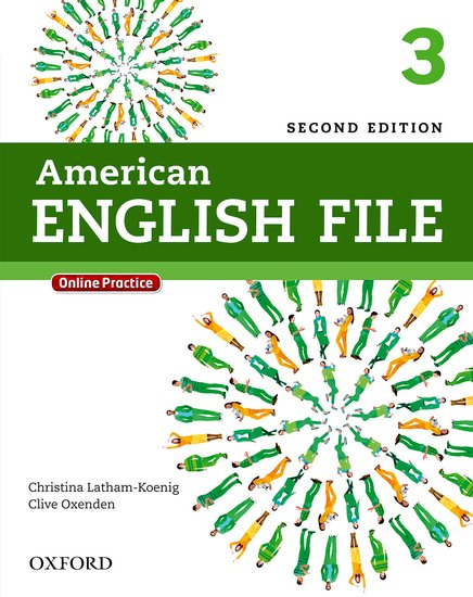 American English File Second Edition Level 3: Student's Book with iTutor and Online Practice