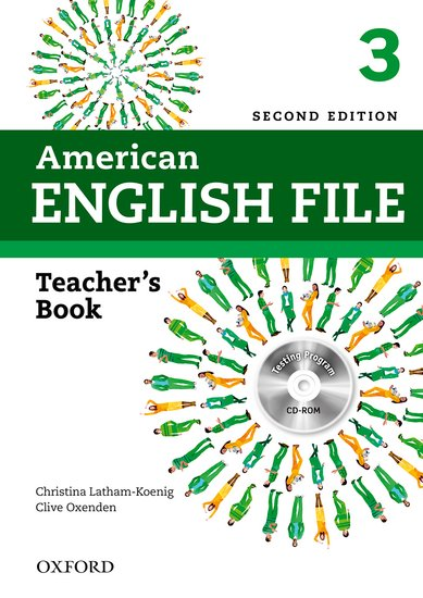 American English File Second Edition Level 3: Teacher's Book with Testing Program CD-ROM
