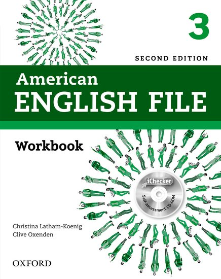 American English File Second Edition Level 3: Workbook with iChecker