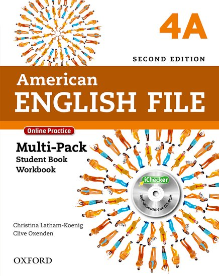 American English File Second Edition Level 4: Multipack A with Online Practice and iChecker