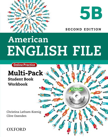 American English File Second Edition Level 4: Multipack B with Online Practice and iChecker