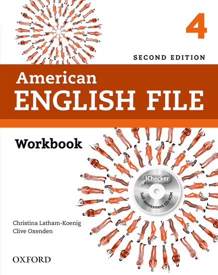 American English File Second Edition Level 4: Workbook with iChecker