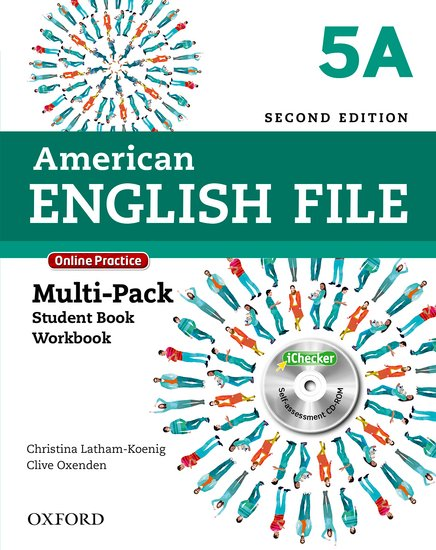 American English File Second Edition Level 5: Multipack A with Online Practice and iChecker