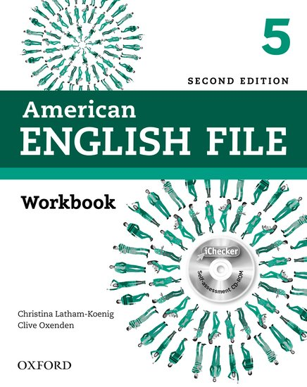 American English File Second Edition Level 5: Workbook with iChecker