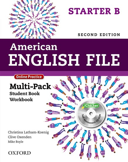 American English File Second Edition Starter: Multipack B with Online Practice and iChecker
