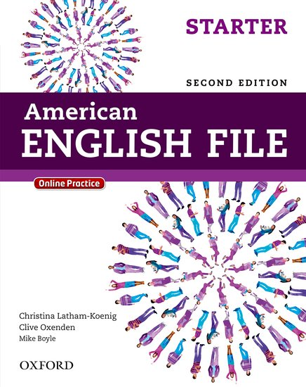 American English File Second Edition Starter: Student's Book with iTutor and Online Practice