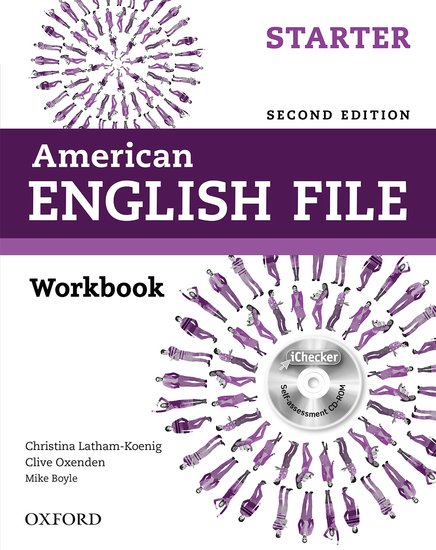 American English File Second Edition Starter: Workbook with iChecker