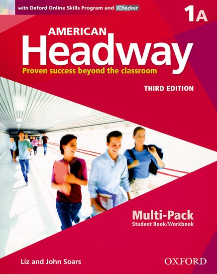 American Headway Third Edition 1 Student´s Book + Workbook Multipack A