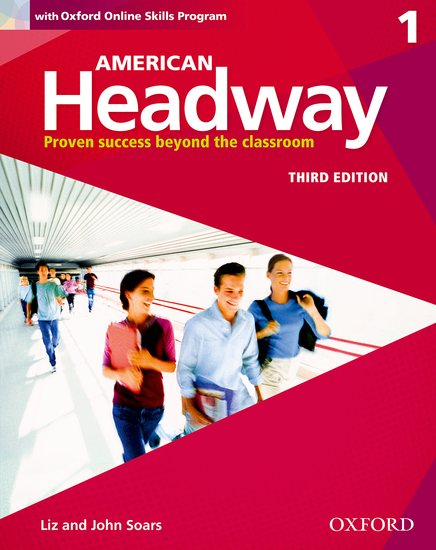 American Headway Third Edition 1 Student´s Book with Online Skills Program