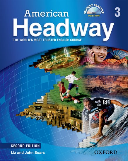 American Headway Second Edition 3 Student´s Book + CD-Rom Pack