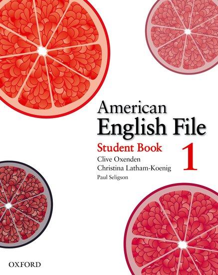 American English File 1 Student´s Book