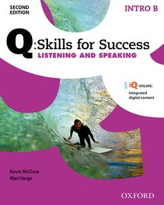 Q: Skills for Success Second Edition Intro Listening & Speaking Student´s Book B