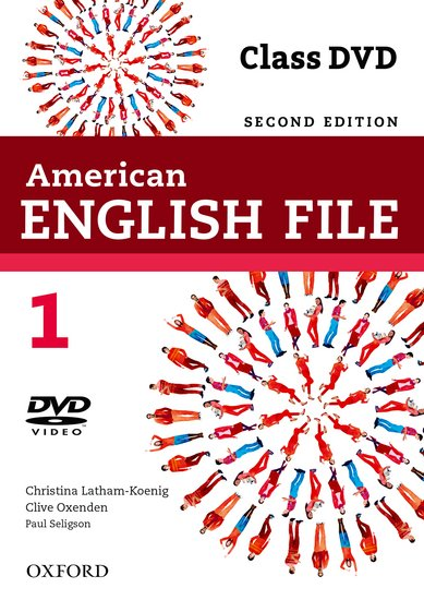 American English File Second Edition Level 1: DVD
