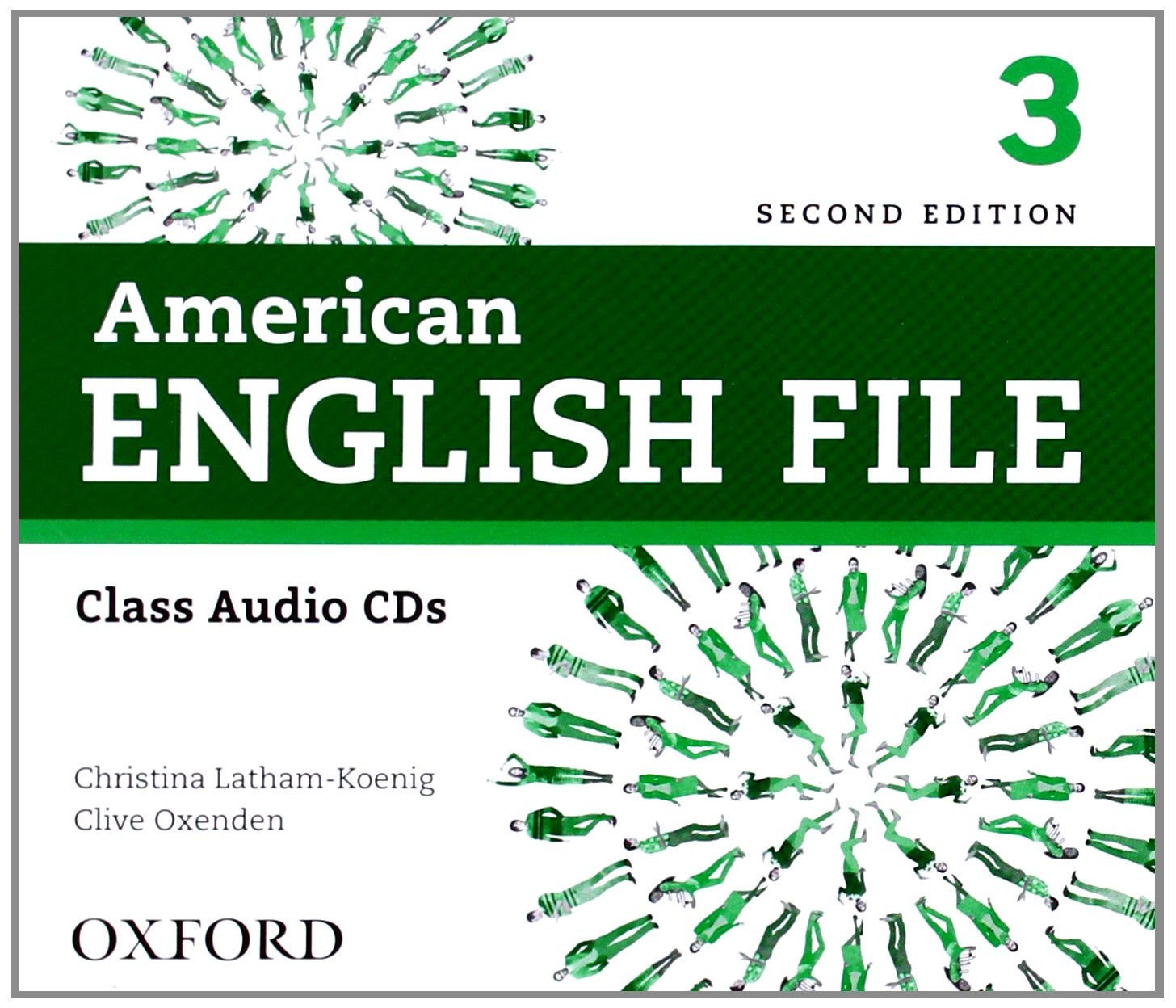 American English File Second Edition Level 3: Class Audio CDs (4)
