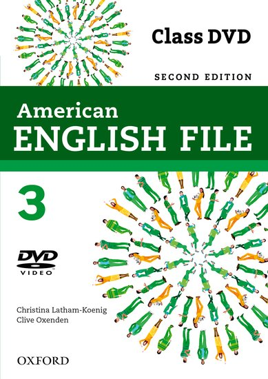 American English File Second Edition Level 3: DVD
