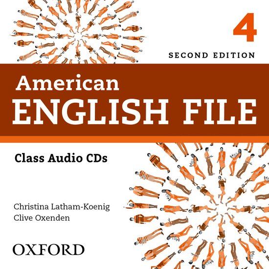 American English File Second Edition Level 4: Class Audio CDs (4)