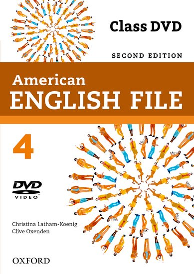 American English File Second Edition Level 4: DVD