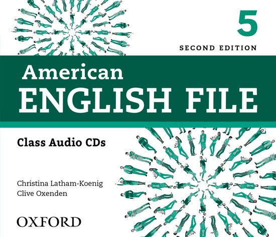 American English File Second Edition Level 5: Class Audio CDs (4)