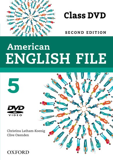 American English File Second Edition Level 5: DVD