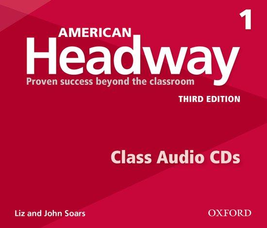American Headway Third Edition 1 Class Audio CDs /3/